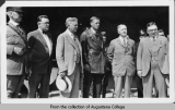 Lindbergh with mayors