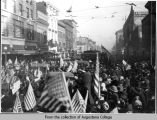 Celebration after World War I