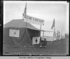 American Red Cross canteen tent