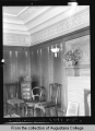 [Hauberg home, dining room]