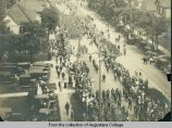 Homecoming parade of World War I