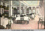 Dining Room, Union Hotel, Galesburg, Ill.