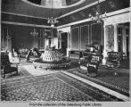 Galesburg Club reception room