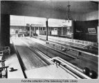 Galesburg Club bowling alley