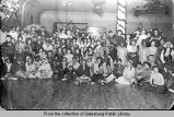 O. T. Johnson Company costume party at Central Hall