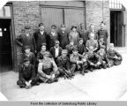 C. B. & Q. Railroad boiler gang