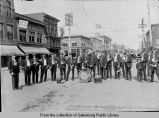 [Galesburg Military Band]