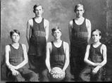 Galesburg High School 1911 basketball team