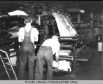 Daily Register-Mail Newspaper printing room