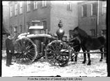 Galesburg Fire Department water & pump wagon