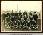 Galesburg High School 1918 football team