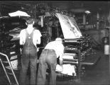 [Daily Register-Mail Newspaper printing press room]