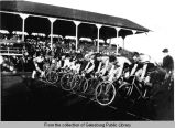 Bicycle race at the District Fairgrounds