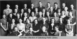 Brown's Business College graduating class of 1938