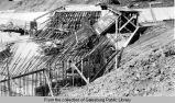 Lake Storey Dam construction