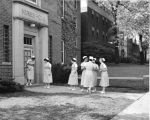 Cottage Hospital School of Nursing students