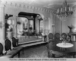 Interior view of J.W. Bettendorf mansion - dining room