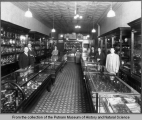 Interior of C. Jansen's Jewelry Store