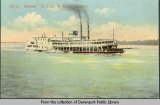 Steamer St. Paul on Mississippi River
