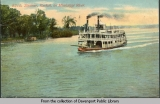 Steamer, Keokuk, on Mississippi River