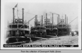 [Mississippi River boats, Rock Island, Illinois]