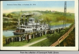 [Steamer Helen Blair, at Galena, Illinois, 1913]