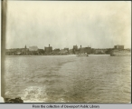 [Davenport, riverfront and downtown skyline]