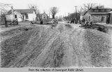 Blue Grass: grade and drain streets