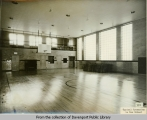 Gymnasium in what is probably Madison School