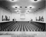 Auditorium in what is probably Madison School
