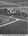 Aerial view of G.H. Reuhmann farm