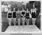 Early bathing beauty contest (?)