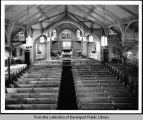 Interior view of St. Paul the Apostle Catholic Church