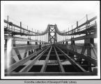 First span of Interstate 74 bridge